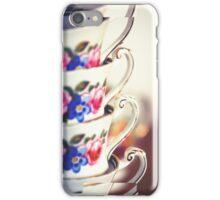 Tea cups iPhone Case/Skin