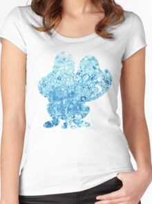 Froakie used Bubble Women's Fitted Scoop T-Shirt
