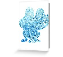 Froakie used Bubble Greeting Card