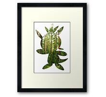 Chespin used Growth Framed Print
