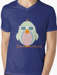 Cool Owl Mens V-Neck T-Shirt
