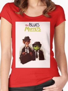 The Blues Muppets Women's Fitted Scoop T-Shirt