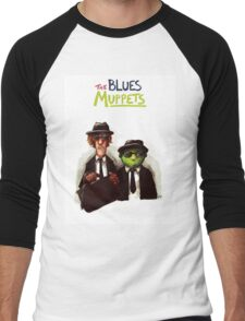 The Blues Muppets Men's Baseball ¾ T-Shirt