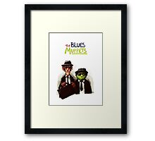 The Blues Muppets Framed Print