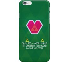 Take me with you! iPhone Case/Skin