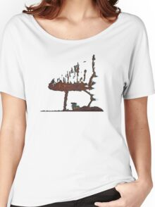Scaredy Cat? Women's Relaxed Fit T-Shirt