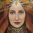 Brigid (detail) by margotmythmaker