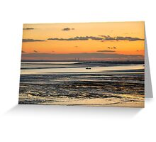 Sunset at Southend Greeting Card