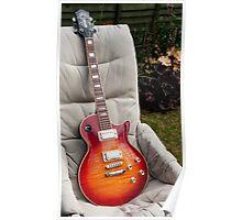 Guild Bluesbird Guitar Poster