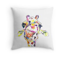 Giraffe Throw Pillow
