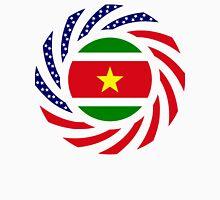 Surinamese American Multinational Patriot Flag Series Unisex T-Shirt