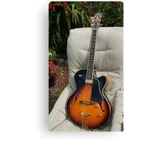 Yamaha AEX1500 Jazz Guitar Canvas Print