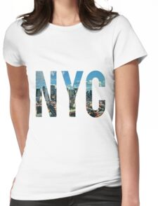 NEW YORK CITY. Womens Fitted T-Shirt