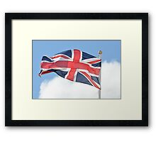 Union Flag Framed Print