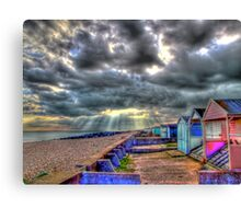 Storm Clouds - Worthing - HDR Canvas Print