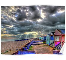 Storm Clouds - Worthing - HDR Poster