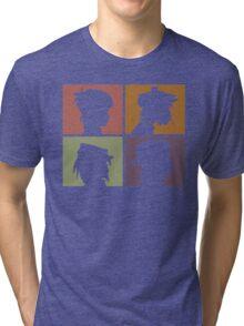 Gorillaz - Demon Days (Silhouette) Tri-blend T-Shirt