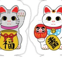 Lucky Cat / Maneki Neko Sticker