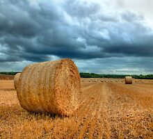 Bales Before The Storm by Colin J Williams Photography