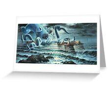 Kraken Attack! Greeting Card