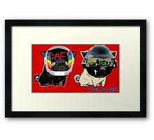 daft pugs Framed Print