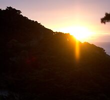 Lands End at Sunset by thebaum