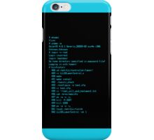 Tron Legacy Code iPhone Case/Skin