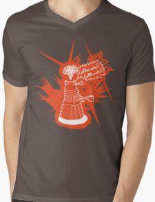 Caffeinate! Caffeinate! Mens V-Neck T-Shirt