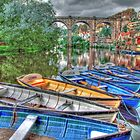 Knaresborough Rowing Boats - HDR by Colin J Williams Photography