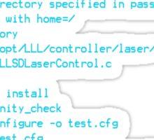 Tron Legacy Code Sticker