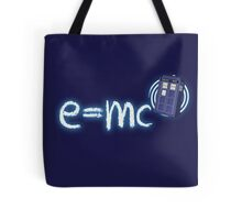Relativity of Space and Time Tote Bag