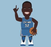NBAToon of Shaquille O'Neal, with Orlando Magic by D4RK0