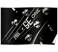 PRS SE One Headstock 3 Poster