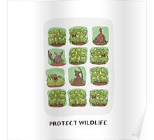Protect Wildlife Poster