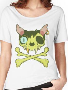 Kitty Krossbones Women's Relaxed Fit T-Shirt