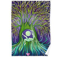 Mother Nature Tree Womb Poster