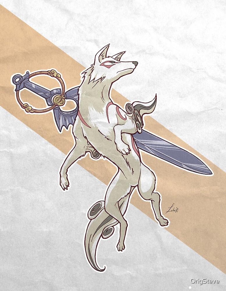 Okami Amaterasu by OrigSteve