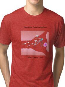 Extreme Contraception: The Tesla Coil Tri-blend T-Shirt