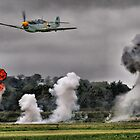 Airfield Attack - Shoreham 2012 by Colin J Williams Photography