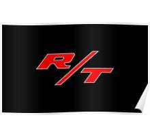 Dodge R/T Banner Poster