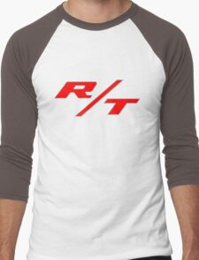 R/T Large Logo Shirt Men's Baseball ¾ T-Shirt