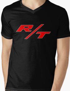 R/T Large Logo Shirt Mens V-Neck T-Shirt