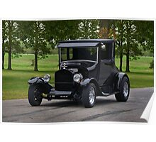 1927 Ford Model T Hot Rod Poster