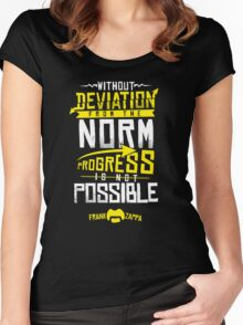 Deviation from the Norm Women's Fitted Scoop T-Shirt