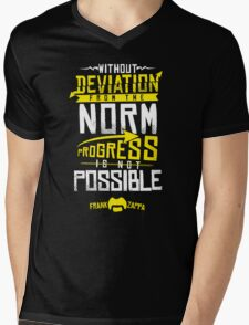 Deviation from the Norm Mens V-Neck T-Shirt
