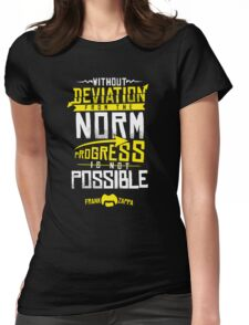 Deviation from the Norm Womens Fitted T-Shirt