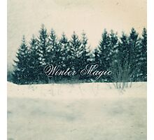 Winter Bliss Photographic Print