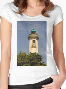 A Light in the Night Women's Fitted Scoop T-Shirt