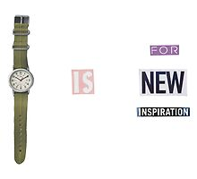 Time Is For New Inspiration by andrewscott