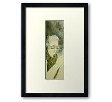 camouflaged Fara Framed Print